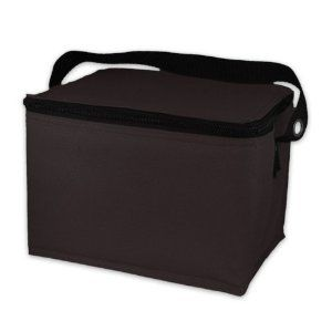 EasyLunchboxes Insulated Lunch Box Cooler Bag, Black $7.95