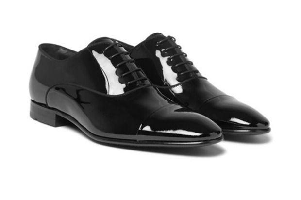 2f268f78f1e Hugo Boss Patent-Leather Oxford Shoes Price: $395. Get them from www ...