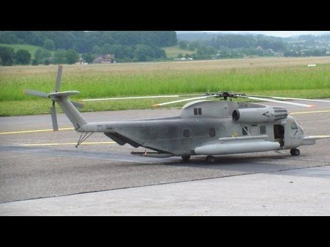 RC Sea Stallion CH53, very Big 6 Blade Scale Helicopter Swiss Heli Challenge 2013 - YouTube