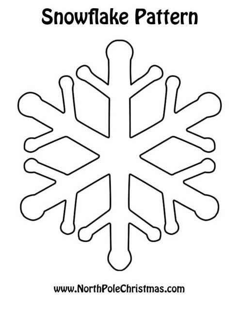 snowflake pattern templates snowflakes christmas snowflake pattern