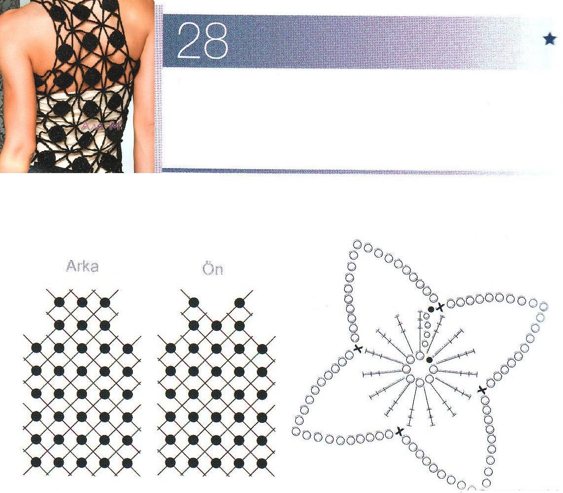 Patrones para Crochet: Top Circulos y Cadenetas de Crochet | Oya ...