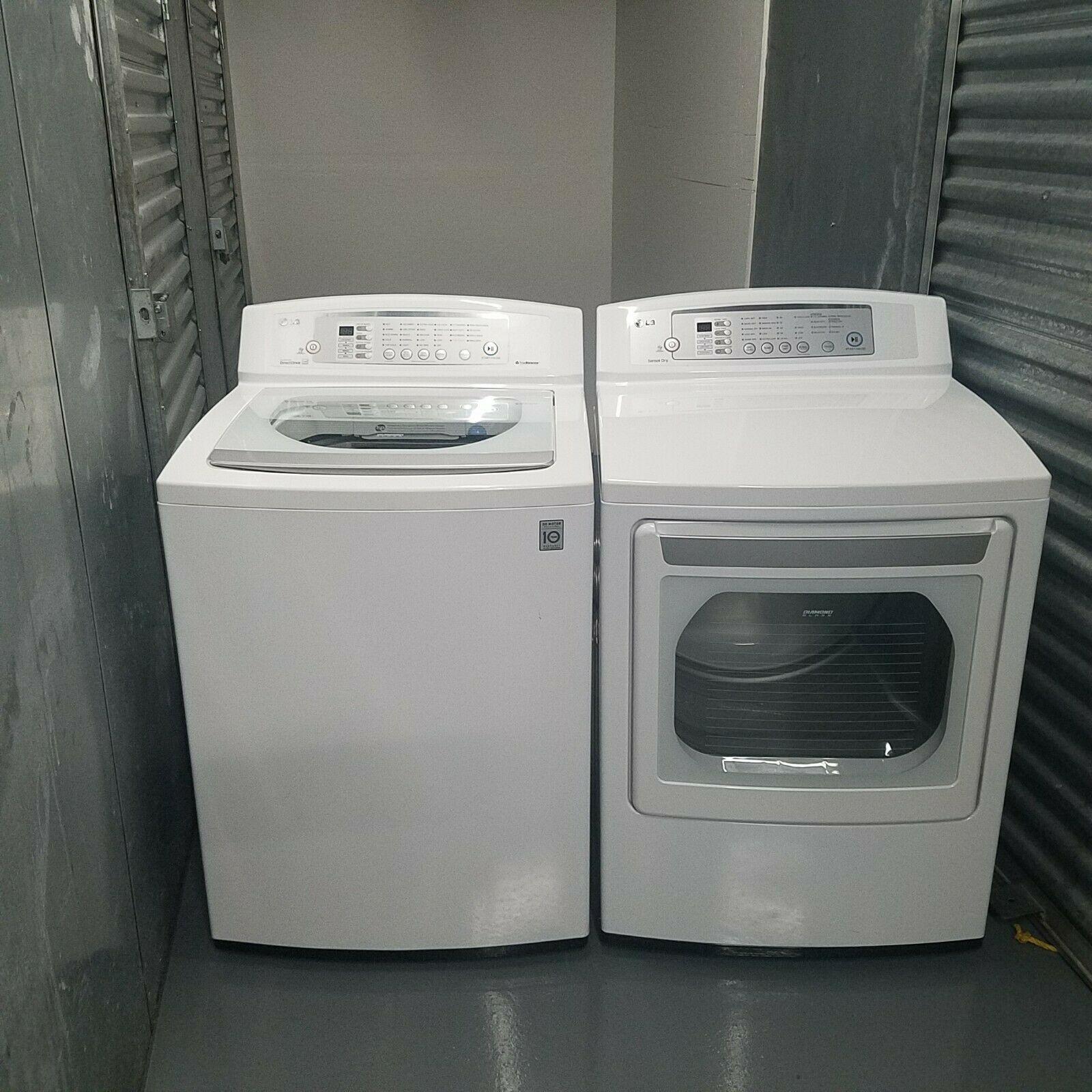 Lg Washer Dryer Electric Set Forsale Appliances