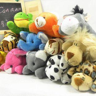 Wholesale Freeshipping Nici series jungle plush toy small doll cartoon animal refrigerator stickers magnet PT3061 $119.99
