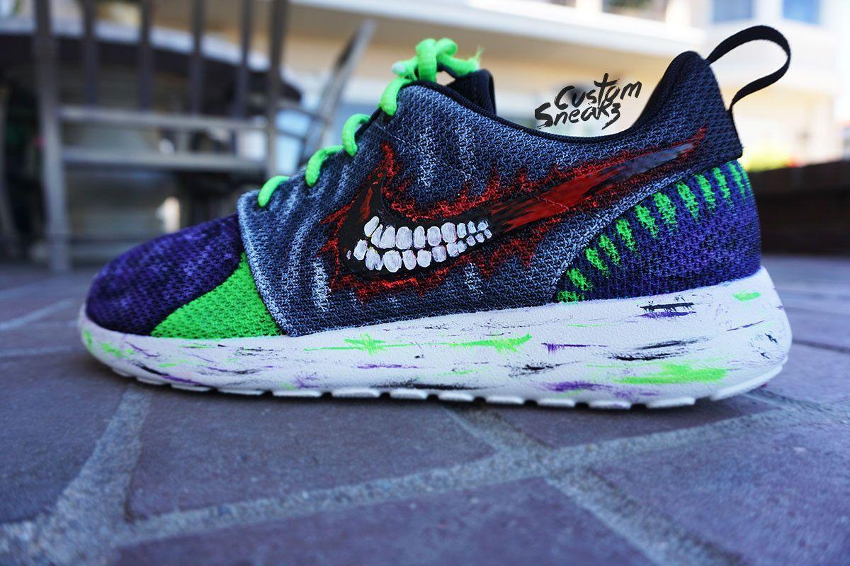 separation shoes 0e634 1bbe1 ... promo code nike roshe run custom jokers done by kickasso youtube custom  adidas superstar for men