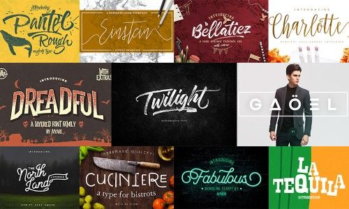 48 Top-Ranked Fonts for Creatives - Only $39