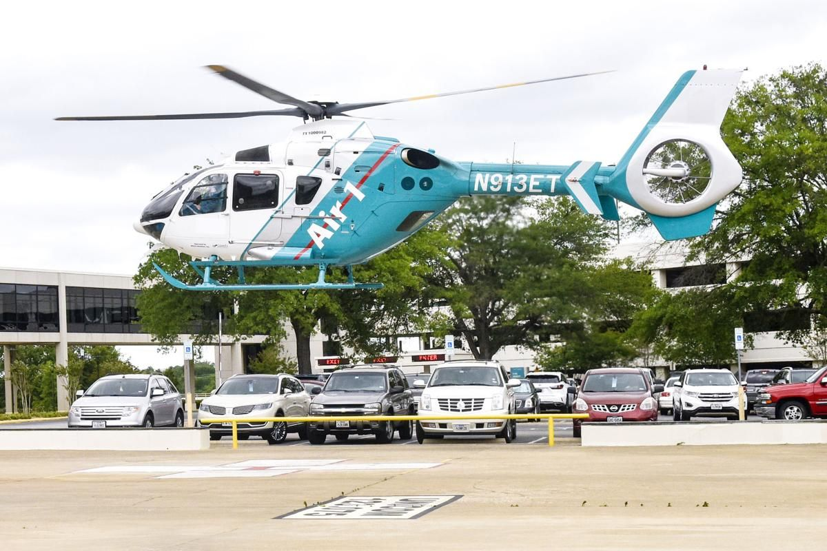 UT Health East Texas air ambulance helicopter reports a