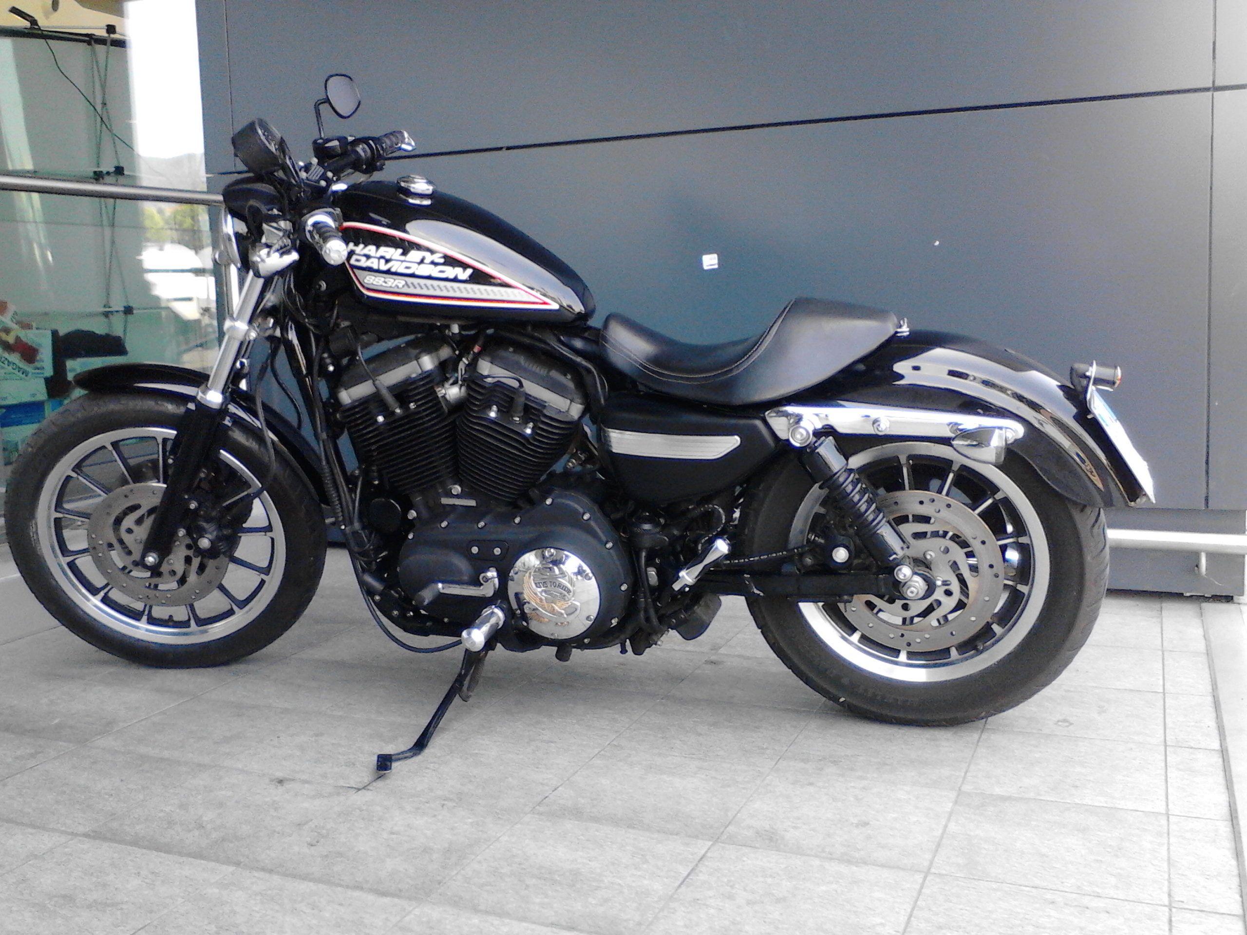 Harley Davidson 883R | Motorsickles | Pinterest | Harley davidson