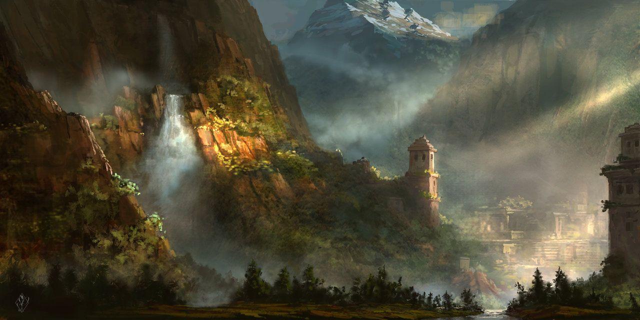 Lost Ruins of Arken-Tar by jjpeabody on DeviantArt