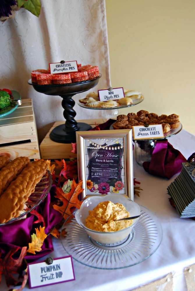 Fall Housewarming Party Food See More Party Planning Ideas