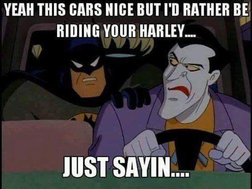 Me too, Batman
