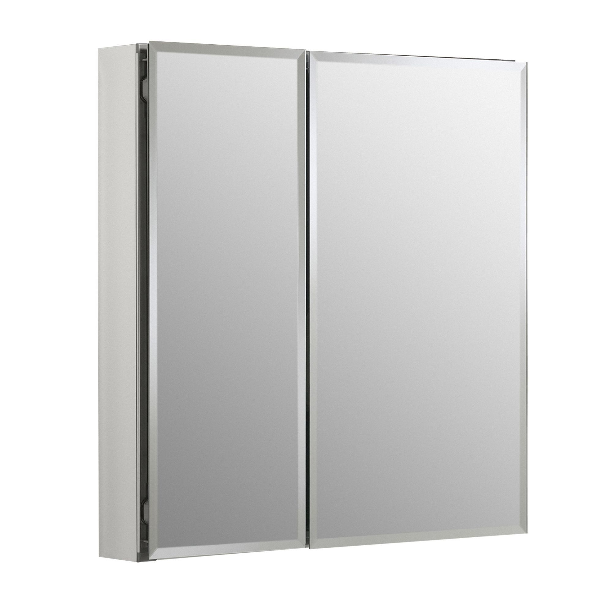 25 X 26 Recessed Or Surface Mount Frameless 2 Doors Medicine