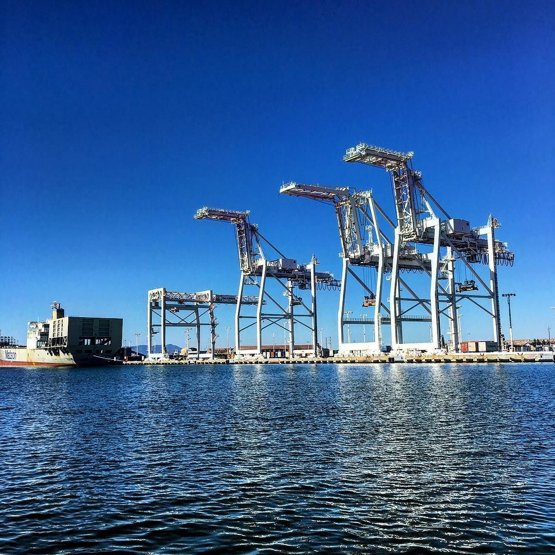 Giants oakland port photo iphone6 takepictures
