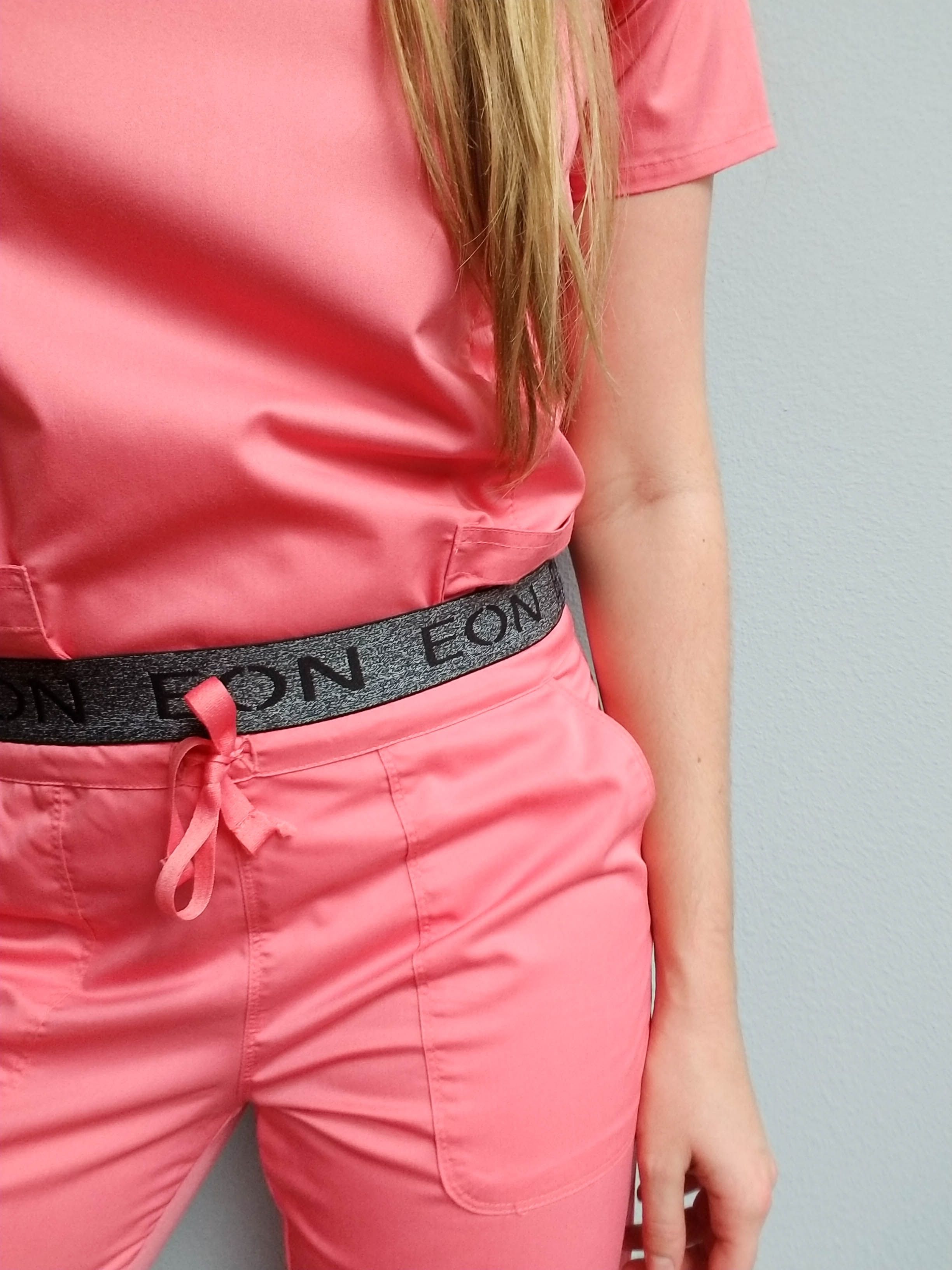 "Maevn Uniforms on Instagram: ""On Sundays we wear pink. Strawberry pink. 🍓"""