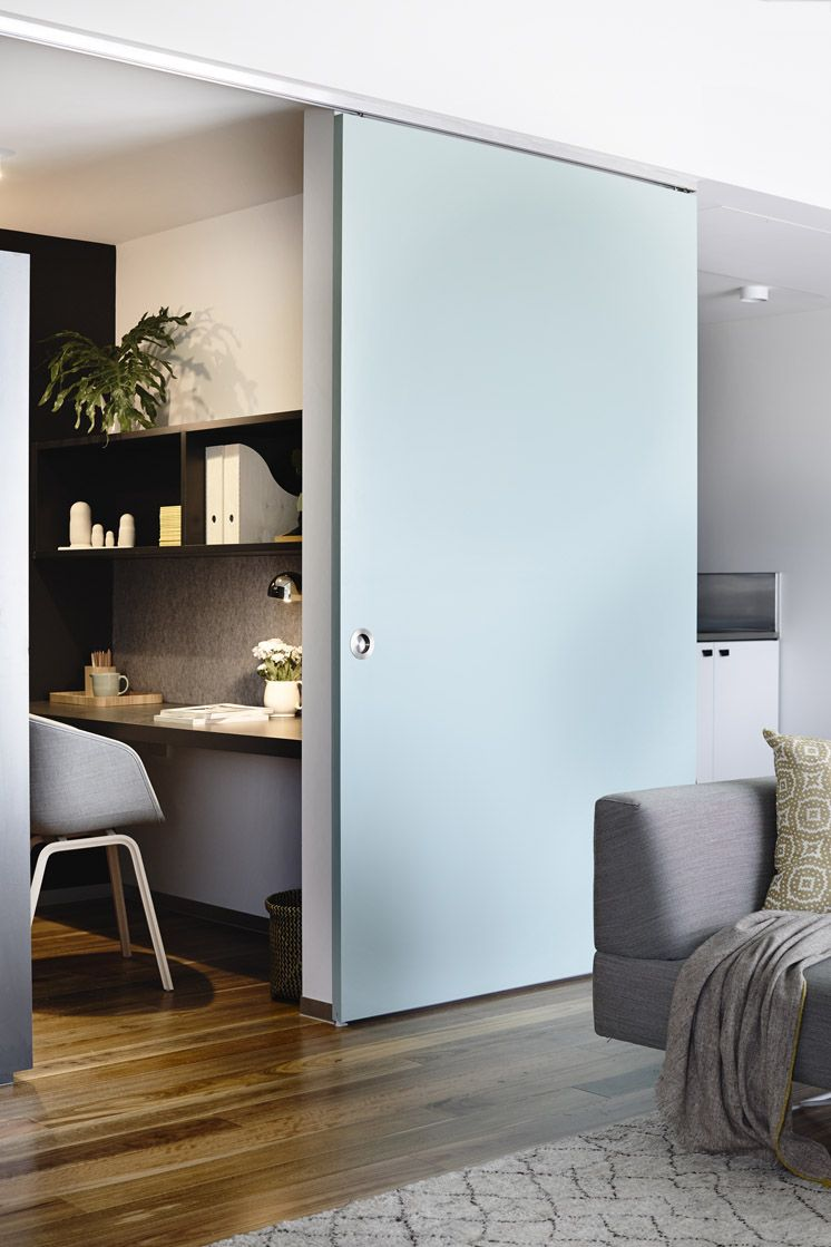Master bedroom exterior door ideas  Visit a Modern Melbourne Apartment With Striking Lines  Gray desk