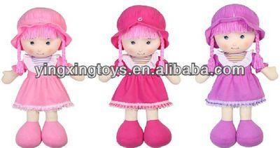 14 polegada boneca bonito para o miúdo por atacado tecido boneca de pano-imagem-Bonecas-ID do produto:1339766721-portuguese.alibaba.com