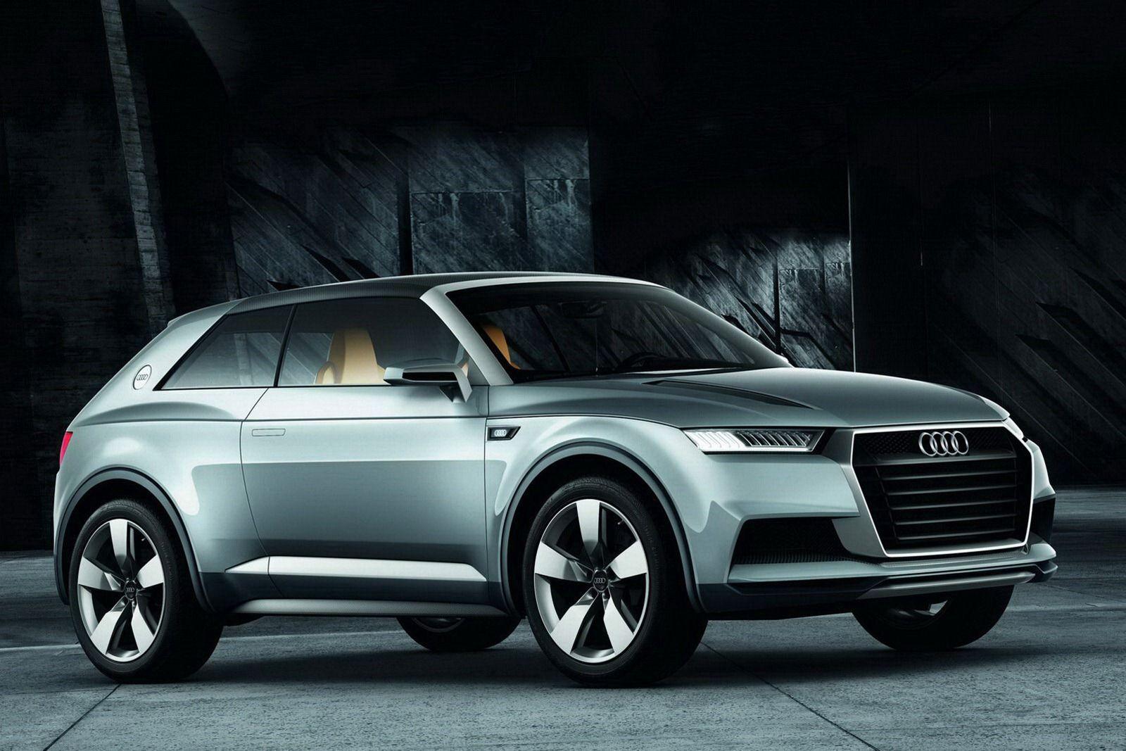 new audi crosslane coupe hybrid points paris auto show. Black Bedroom Furniture Sets. Home Design Ideas