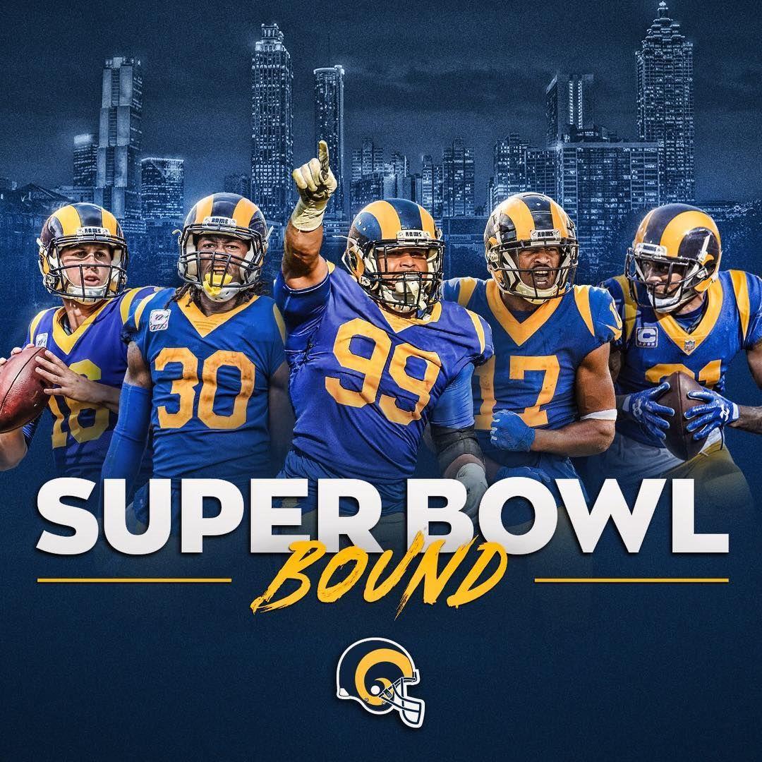 Los Angeles Rams On Instagram See You Soon Atlsuperbowl53