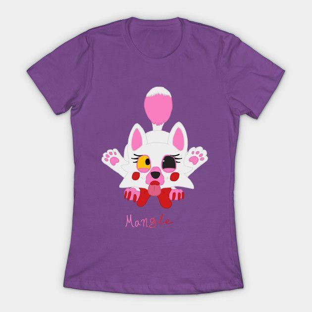 Lil' Mangle (fnaf) Womens T-Shirt