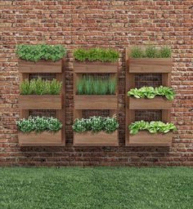 30 handsome diy examples how to make lovely vertical on indoor herb garden diy wall vertical planter id=58563