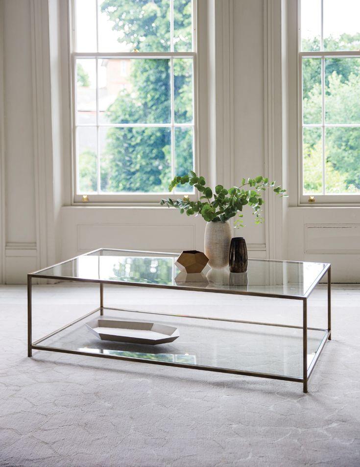 Square Glass Coffee Table Australia