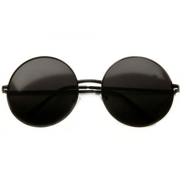 80s - Walker Large Circle Frame Sunglasses (more colors) ($12 ...