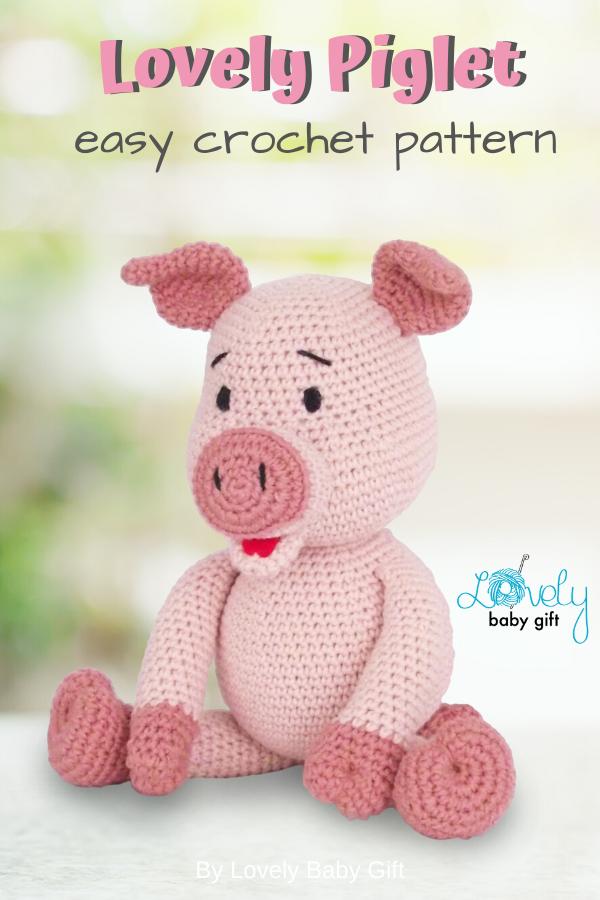 Amigurumi Crochet Pig - Learn to Crochet - Crochet Kingdom | 900x600