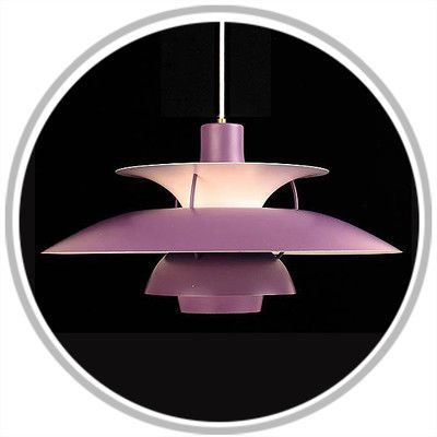 POULSEN Danish PURPLE LOUIS Light Modern PH5 POUL LAMP OiTZPXku