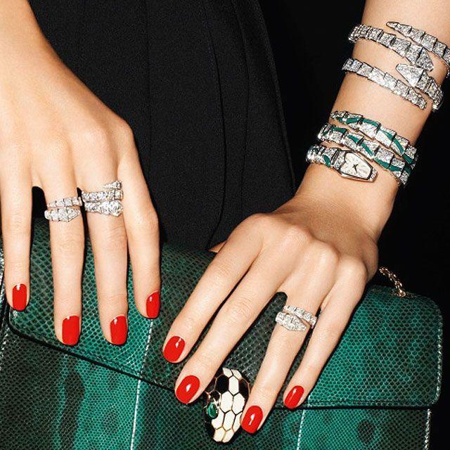 accessories of replica bvlgari snake bracelet ring fashion