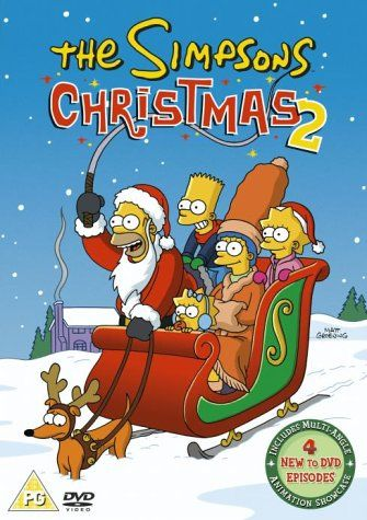 The Simpsons Christmas 2 Dvd 1990 Amazon Co Uk Dan Castellaneta Nancy Cartwright Julie Kavner Yeardley Smith The Simpsons The Simpsons Movie Simpson