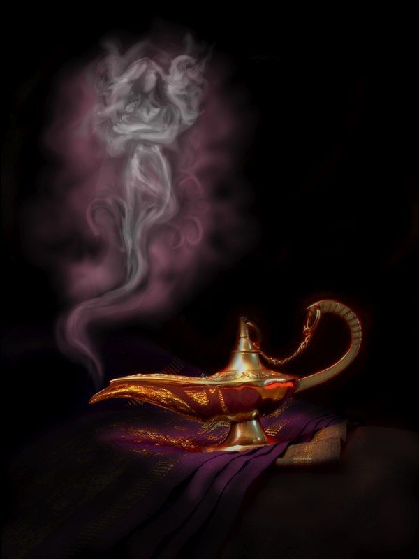 I Will Use This Type Of Smoke As Well For When The Genie Makes His  Appearance On Stage. There Will Be An Actual Lamp Like This And I Will Have  Effects For ...