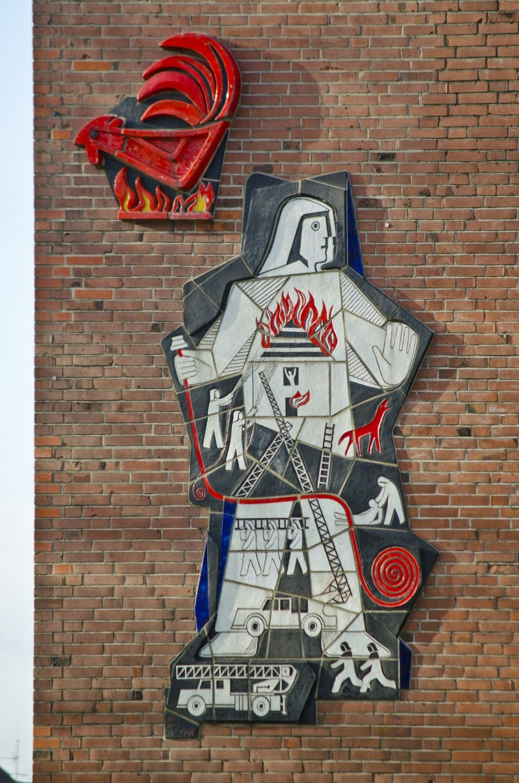 Die Stange Eines Feuerwehrmannes