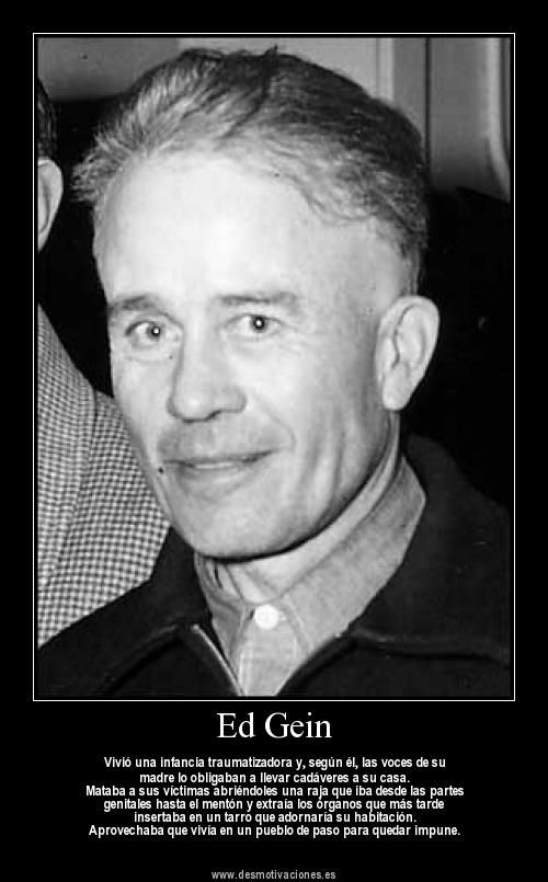 From A Criminological Perspective Ed Gein With Images Serial