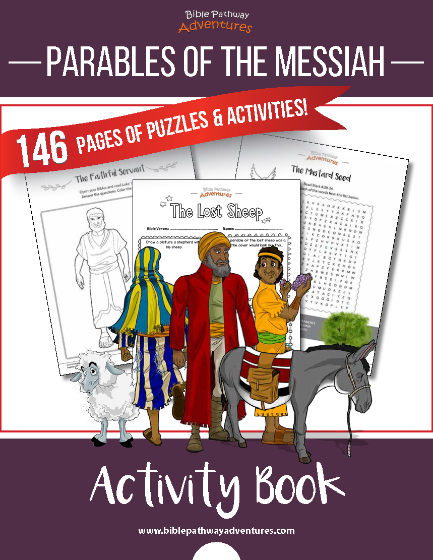 Parables of Jesus (Yeshua) activities for kids. Instant Download ...