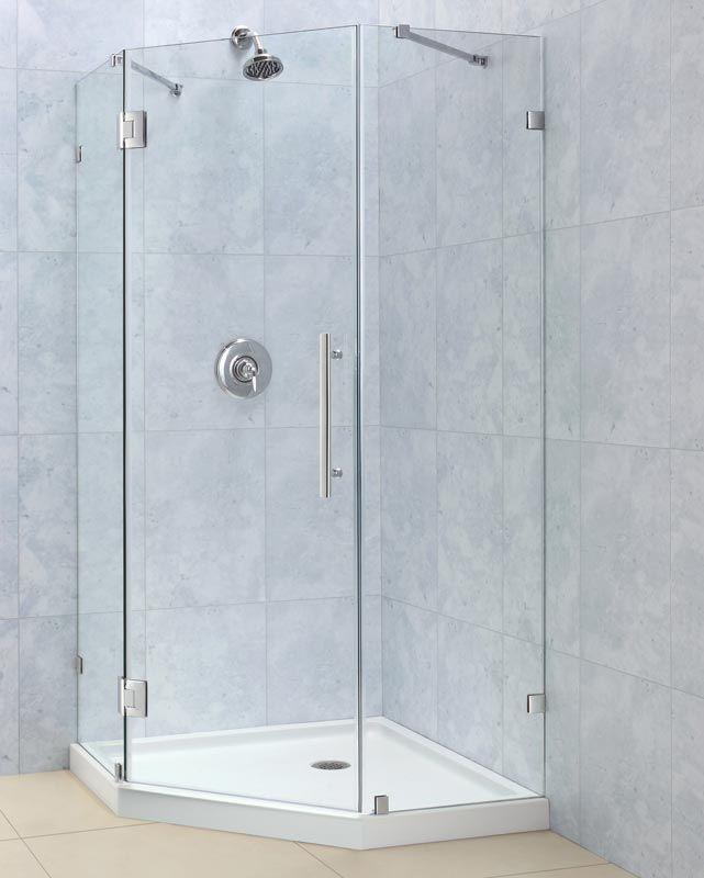 The Frameless Neo Angle Shower Enclosure | Shower Enclosure ...