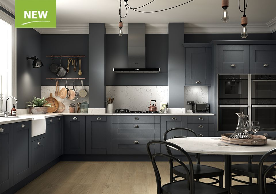 Best Sherwood Charcoal Benchmarx Kitchen Small Kitchen Plans 400 x 300