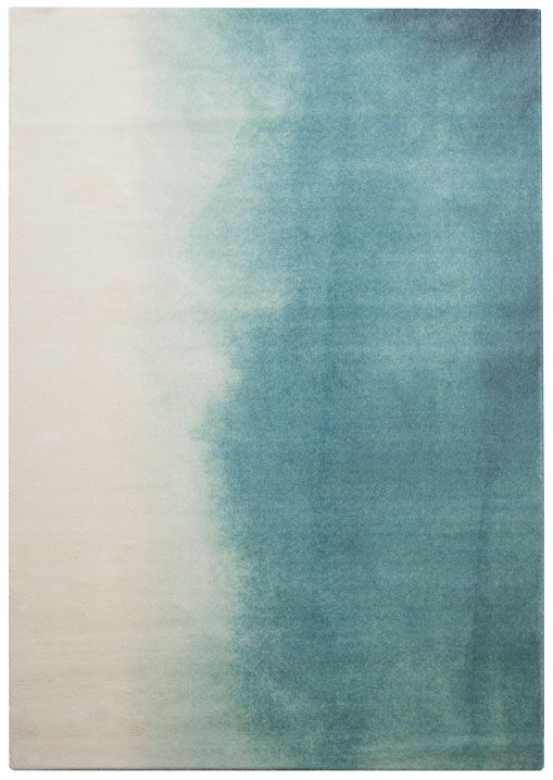 Teal Paintbox rug by blubellgray at WovbenGround.net