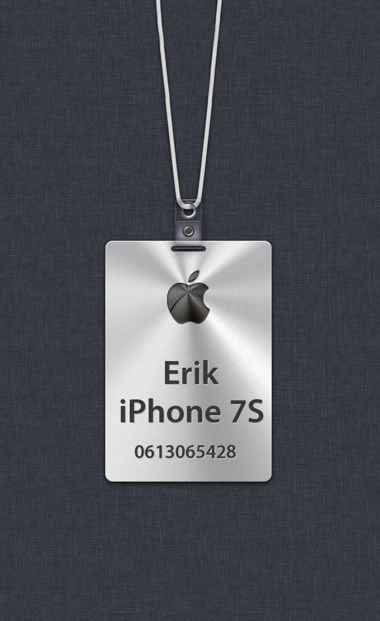 Iphone 4 Name Badges Ios7 Wallpaper Hd Fond D Ecran Iphone Iphone Ecran Iphone