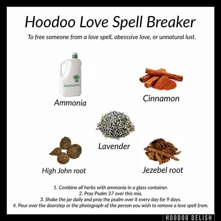 Love Spell Breaker | Pagan, Wicca & Witch | Hoodoo spells