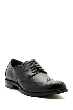 Garrison Wingtip Oxford - Wide Width Available