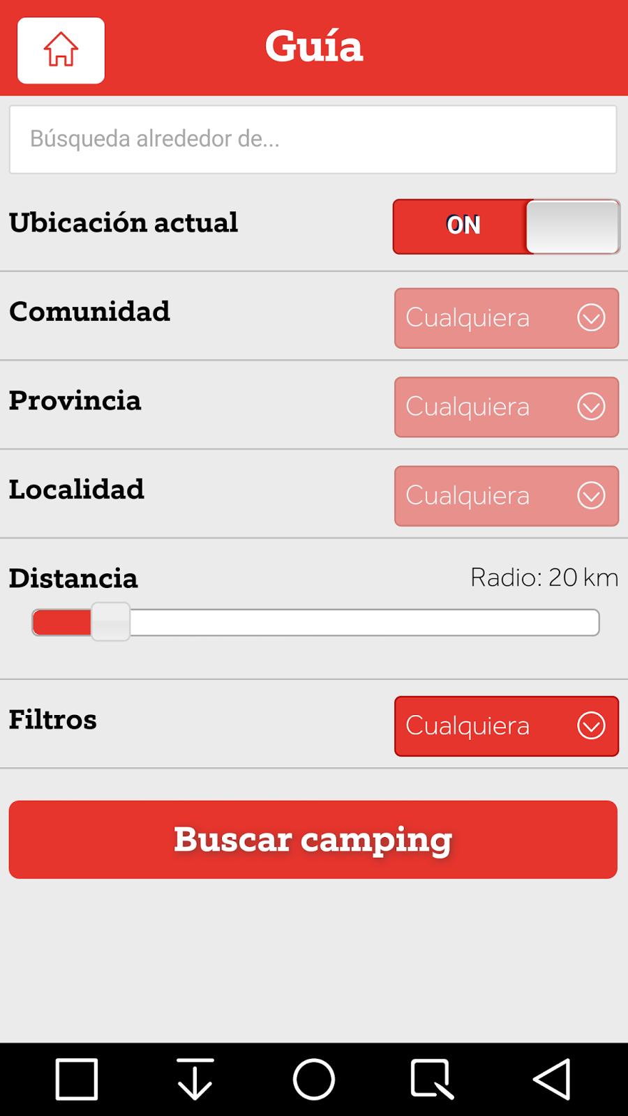 Acampados Ilovecamping ~ smartphandroid