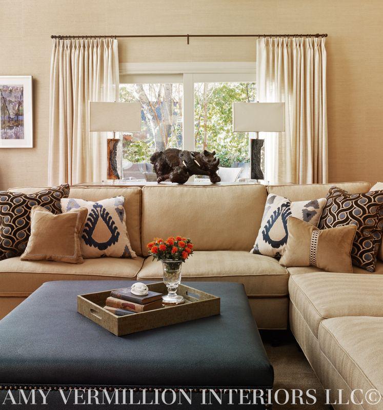 Amy Vermillion Interiors Llc Tv Room Pinterest Decoraci N