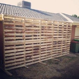 How To Build A Pallet Wall Back Drop Google Search Pallet