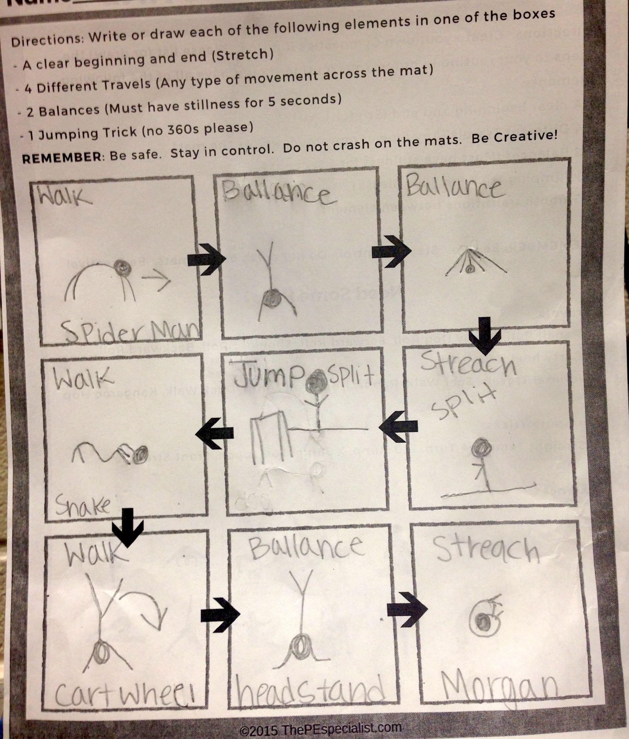 How To Teach Gymnastics Skills In Pe