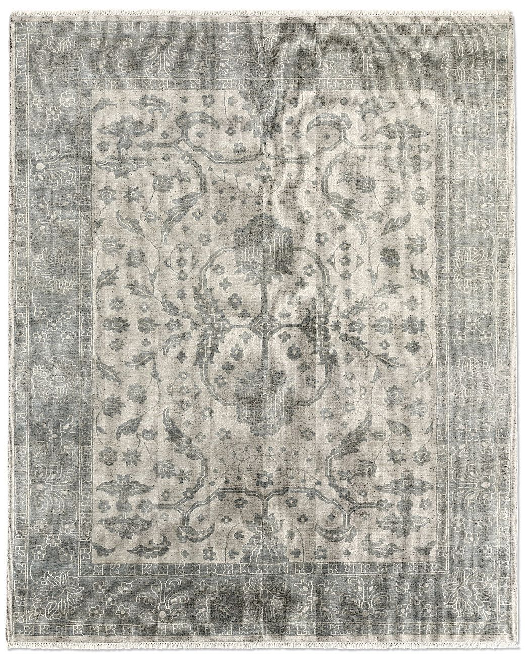 Restoration Hardware Has Some Huge Rugs In Silvery Colors 12 X15