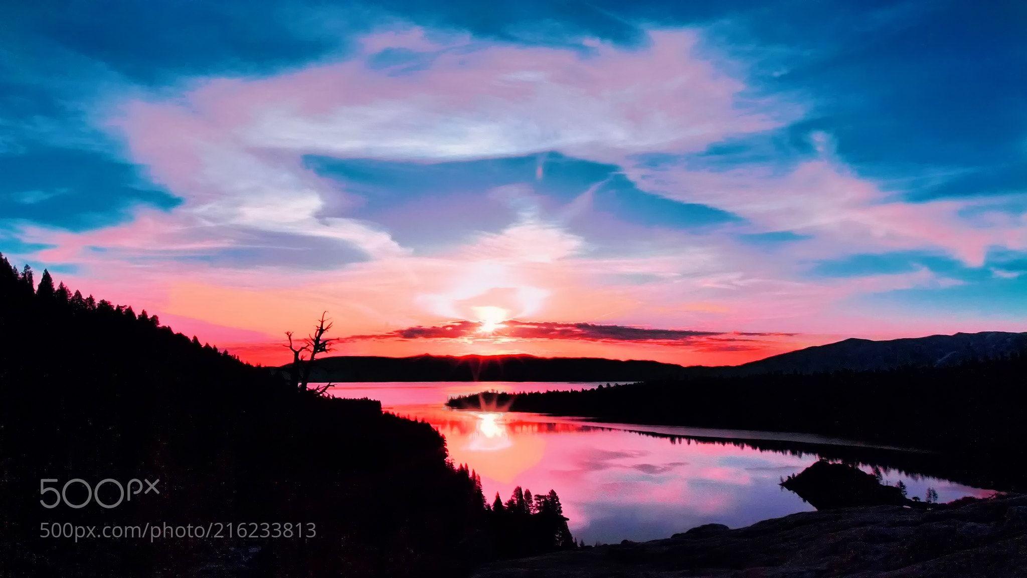 Lake tahoe sunset travel channel pinterest - Tahoe Sunrise Ed Puskas Redondo Beach Usa Nikon D200 Landscape