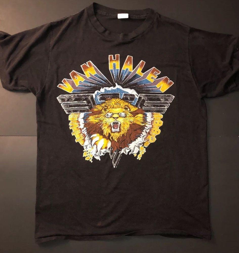 Vintage Mens Van Halen 1982 Band T Shirts Fashion Clothing Shoes Accessories Mensclothing Shirts Ebay Link Band Tshirts Shirts Great T Shirts