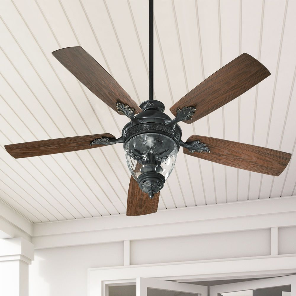Quorum Lighting Georgia Old World Ceiling Fan With Light At Destination Lighting In 2021 Ceiling Fan Quorum Lighting Ceiling Fan With Light
