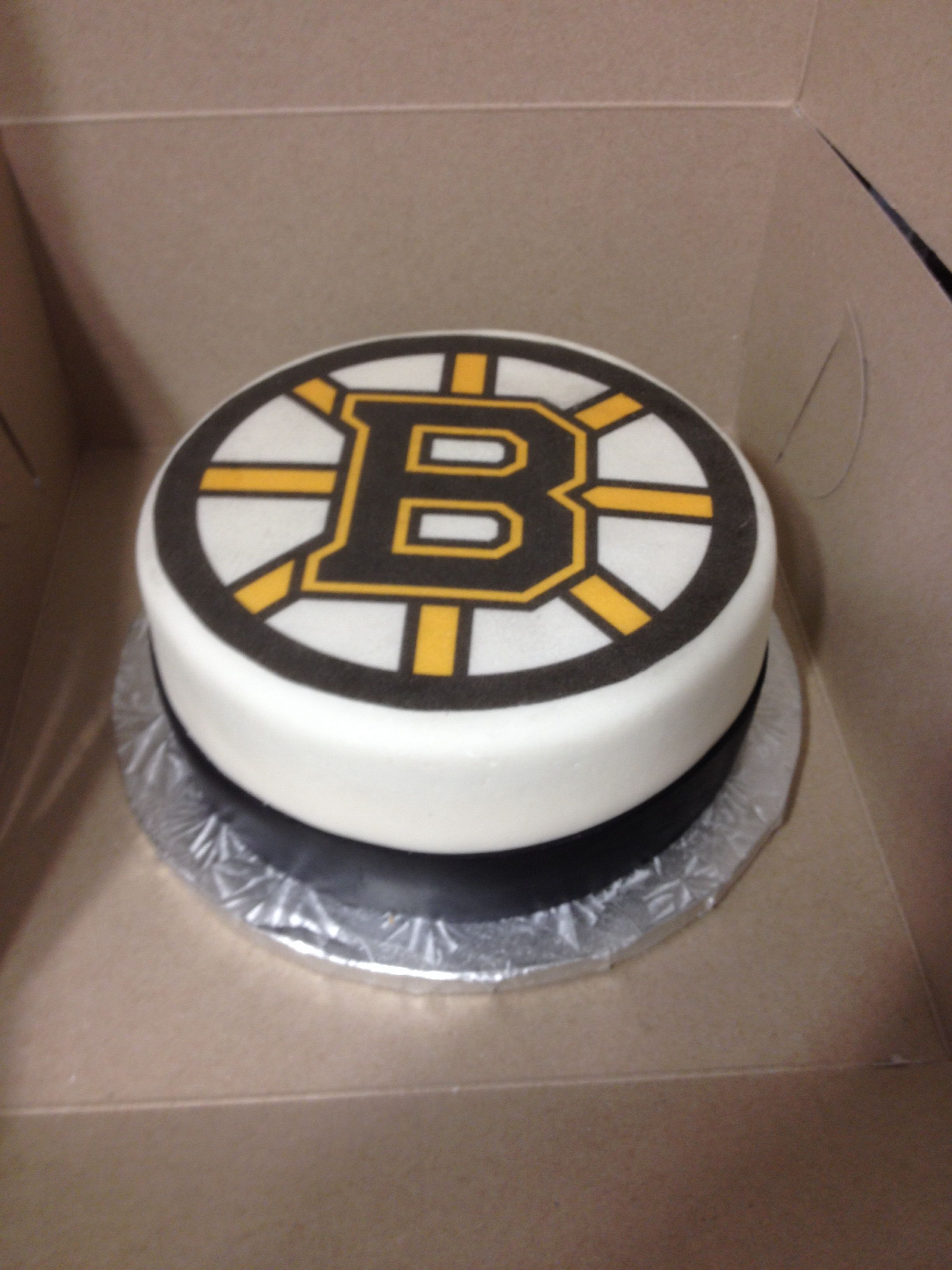 Boston Bruins Cake