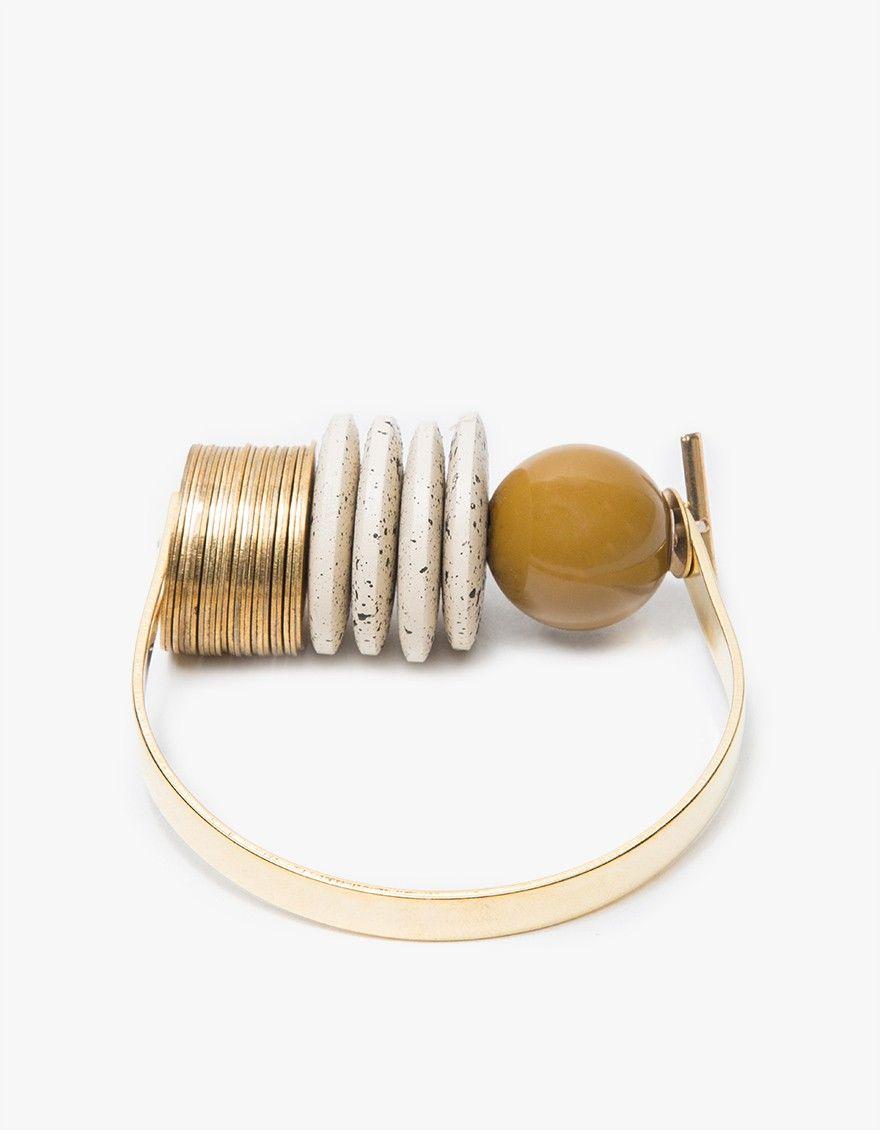 Maslo jewelry baseline bracelet in moss necessary accessories