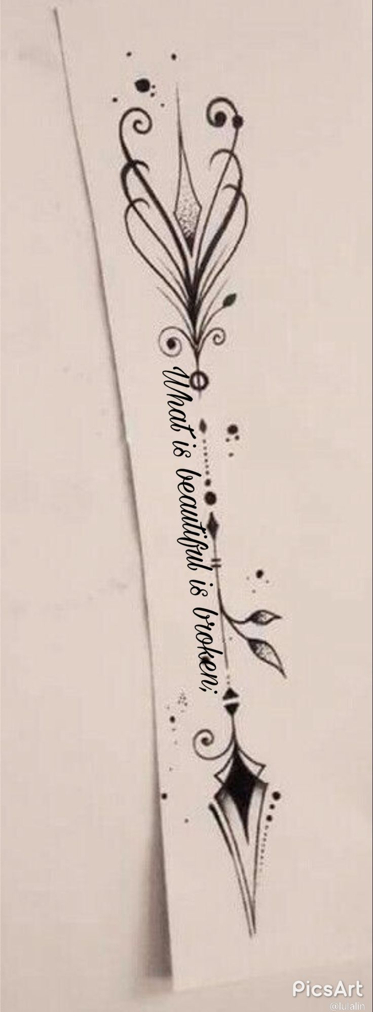Tattoo idea for forearm – Daniela Süring – Sandra Bell – Tägliches Pin Blog